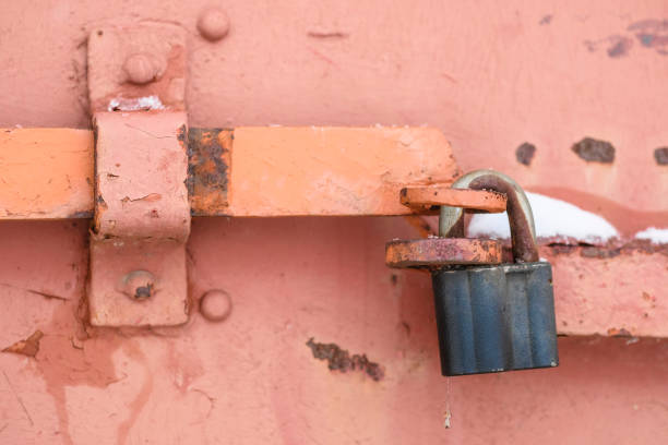 image of locks - hymen stock photos and pictures