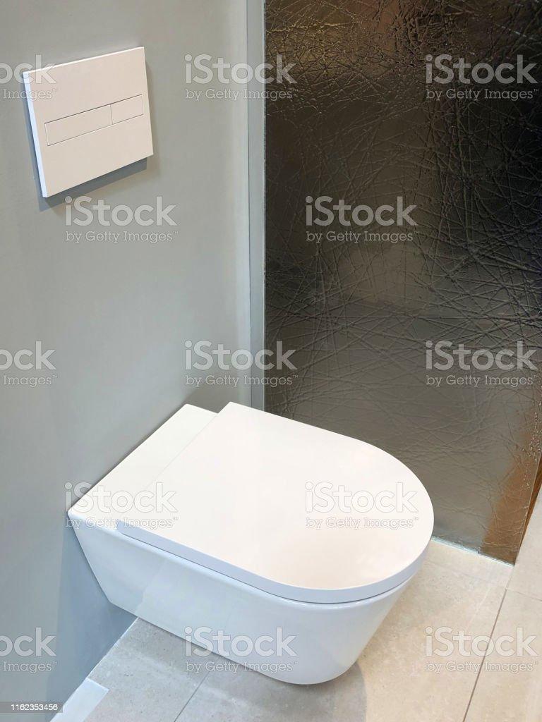Photo libre de droit de Image De Toilette De Luxe Blanc ...