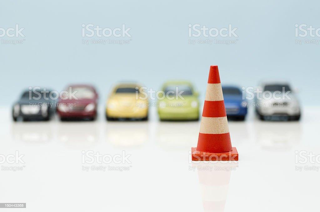 Image of parking lot (XXXLarge) stock photo