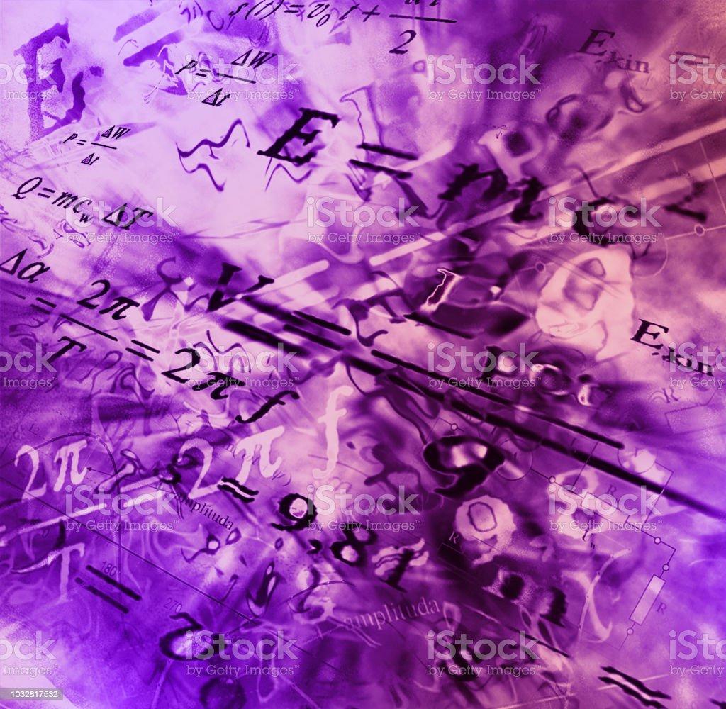 Photo Libre De Droit De Image De Fond Abstrait De Technologie Physique Fond Decran De Science Avec Lecole De Physique Formules Et Structures Banque D Images Et Plus D Images Libres De Droit De