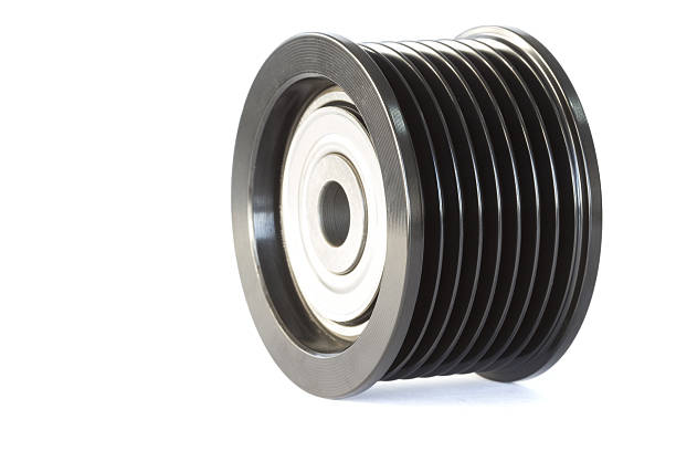 Image of pulleys stock photo