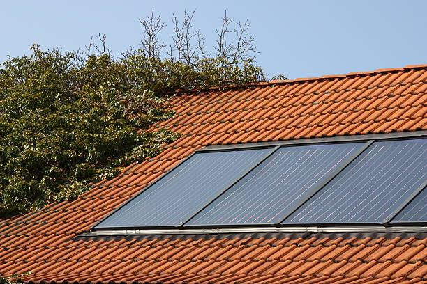 Solar thermal-system – Foto