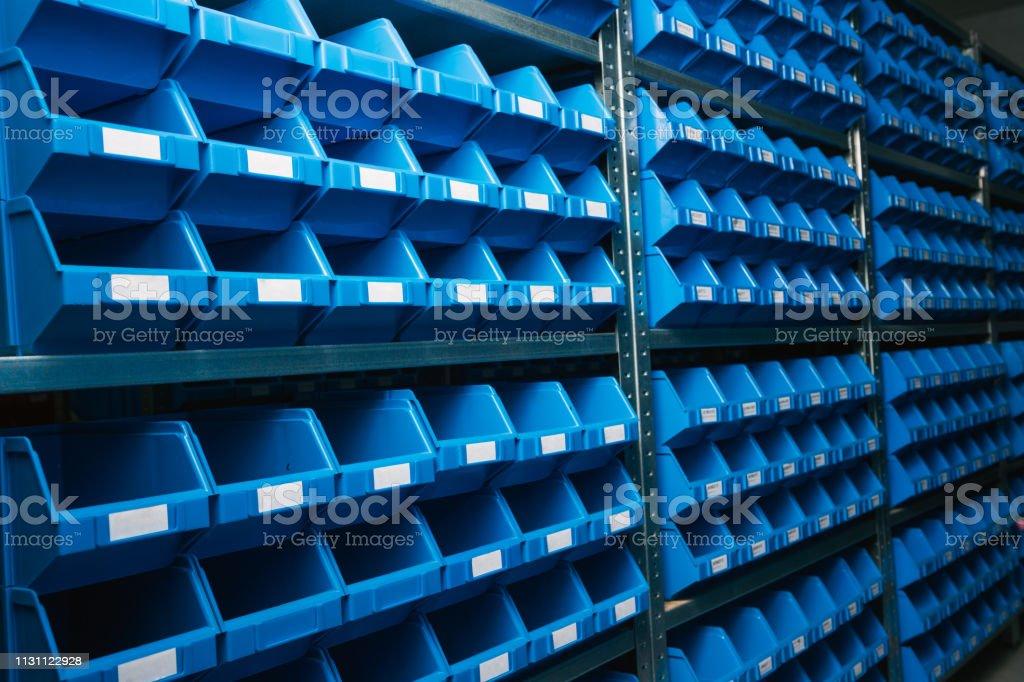 Bild von kleinen Plastikboxen – Foto