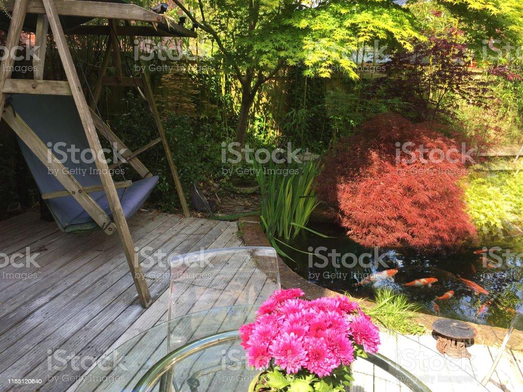 Photo libre de droit de Image De Jardin De Printemps Avec ...