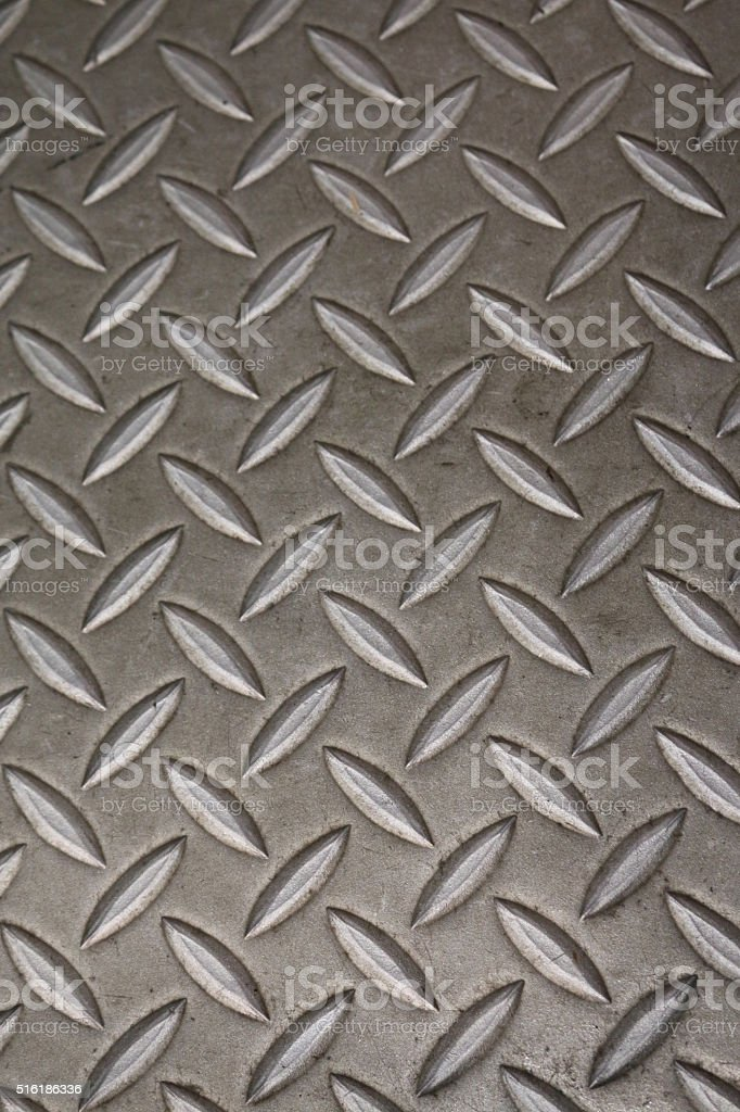Image Of Stainless Steel, Industrial Diamond Plate, Anti Slip Flooring  Royalty Free