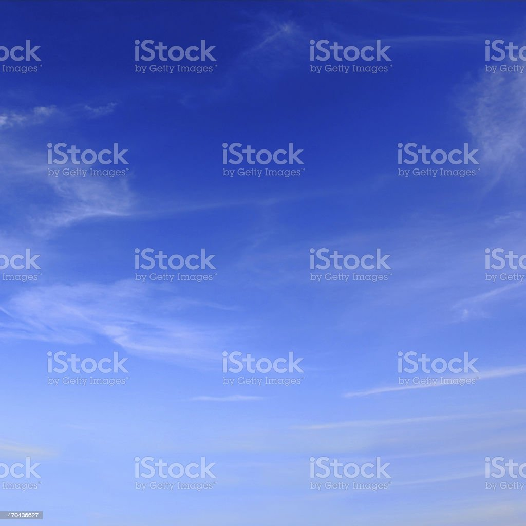 Image of summer fluffy sky royalty-free stock photo