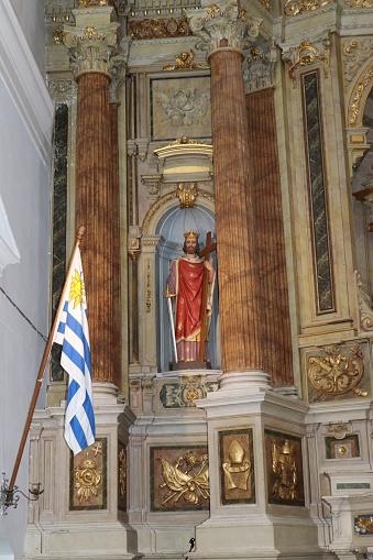Image of the patron - Cathedral of San Fernando de Maldonado