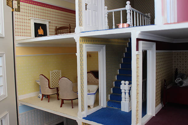 Royalty Free Dollhouse Interior Pictures, Images and Stock Photos ...