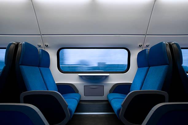 Innenansicht des modernen niederländischen Eisenbahn – Foto