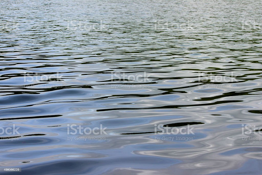 Image of water ripples, water surface reflections, like crude oil royalty-free stock photo