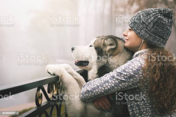 Image of young girl with her dog alaskan malamute outdoor picture id648995810?b=1&k=6&m=648995810&s=612x612&h=qvnmnnljef atvi8uwl4yfpg1p75nd8poapnhnpwgqq=