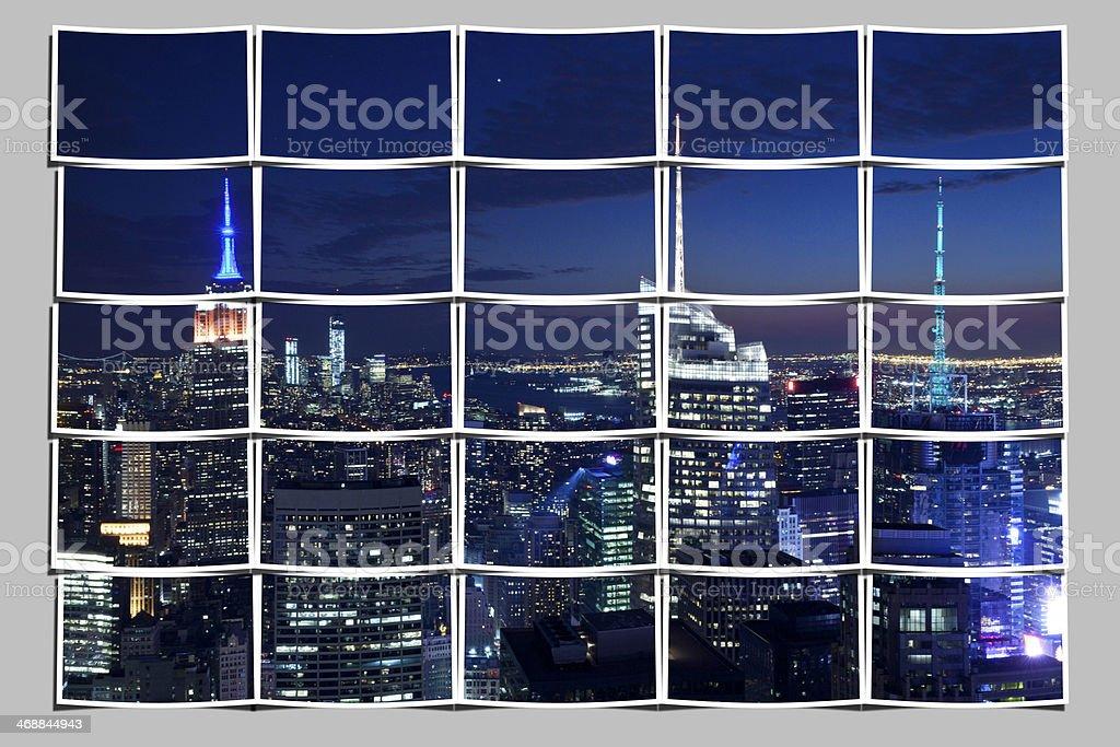 Bild Von Puzzle Von New York City Manhattan Stock-Fotografie und ...