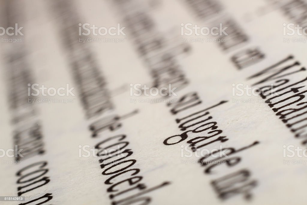 Image text writen by computer stock photo
