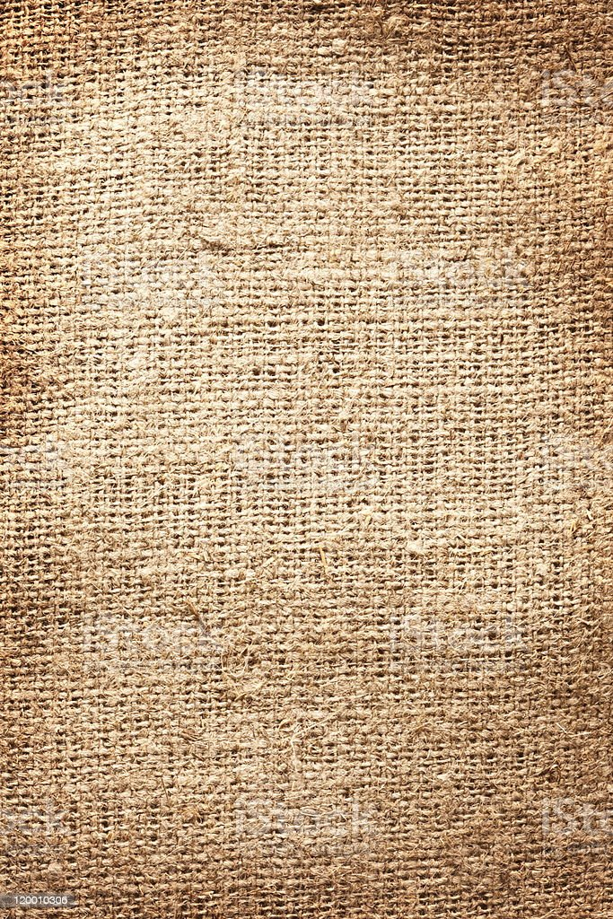 Image texture of burlap. royalty-free stock photo