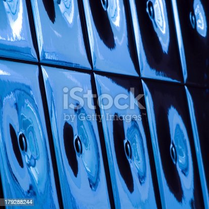 istock Image with blue ceramic tiles 179288244