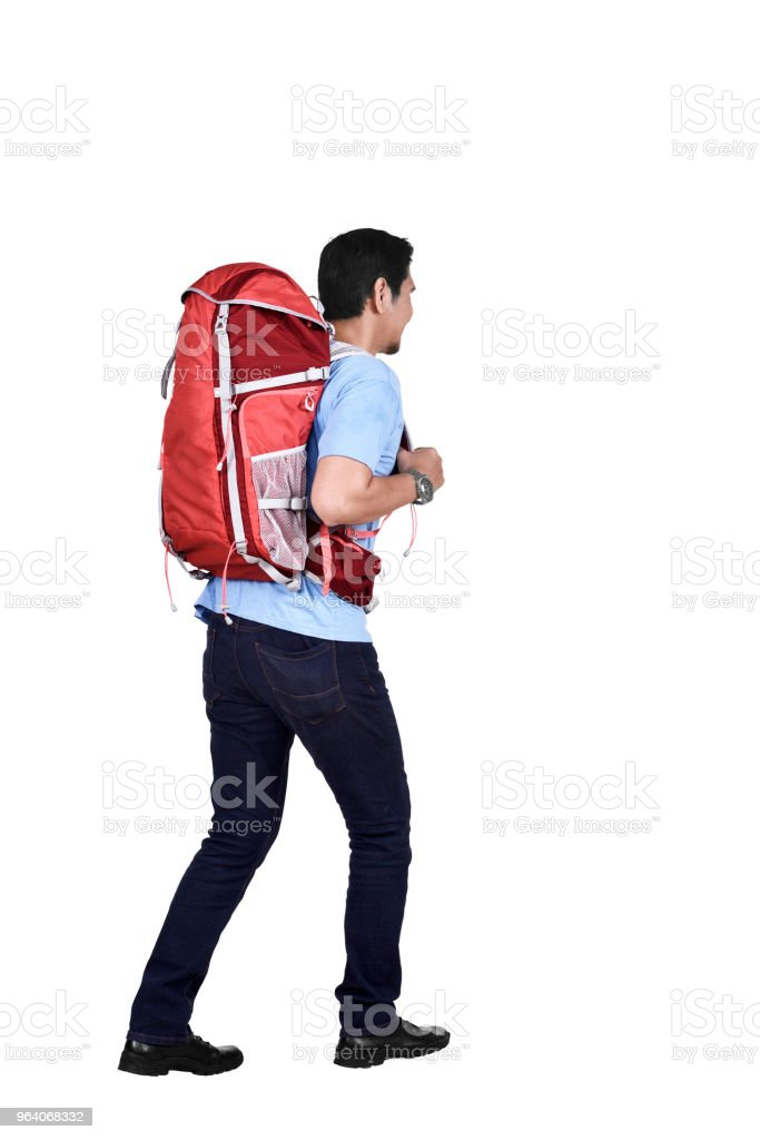 Images asian backpacker going traveling - Royalty-free Adult Stock Photo