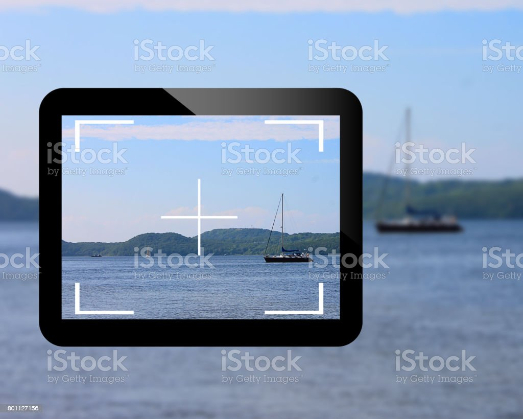 images in the tablet stock photo