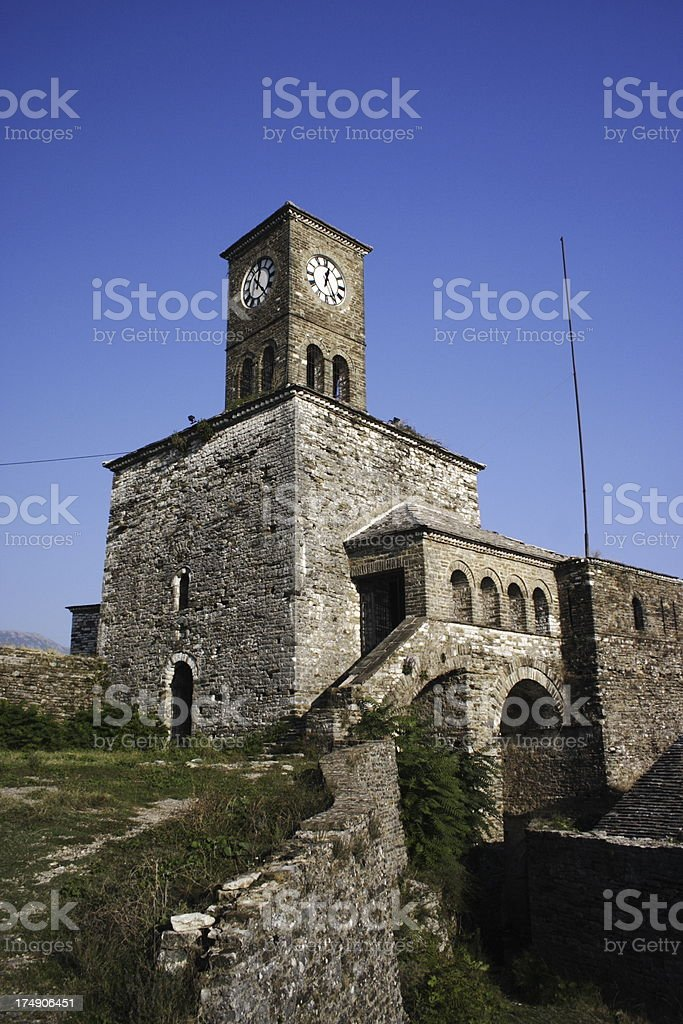 Images of Albania | Antique Fortress in Gjirokastra royalty-free stock photo