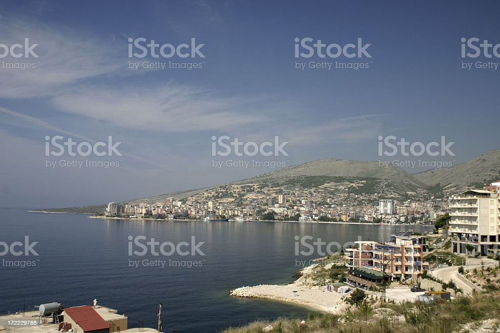 Images of Albania | Saranda Sea Resort royalty-free stock photo