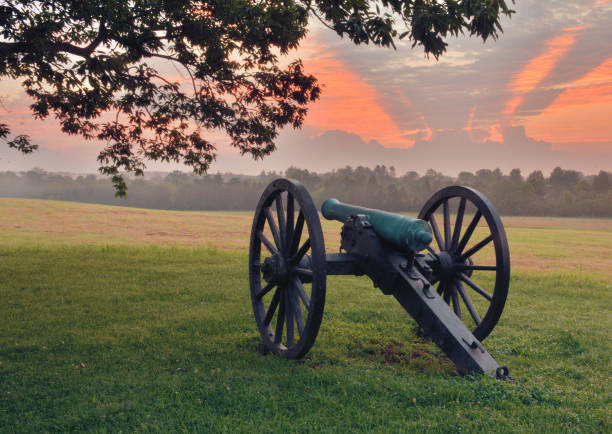 Images of Manassas National Battlefield Park Virginia Images of summer in Manassas, Civil War Battlefield battlefield stock pictures, royalty-free photos & images