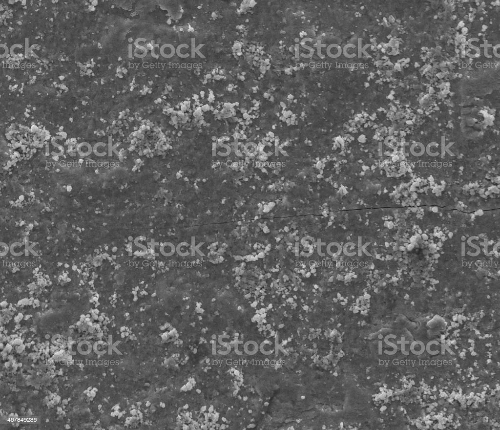 SEM imágenes de acero - foto de stock