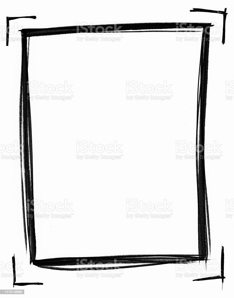 Imaginary Photo Frame royalty-free stock photo
