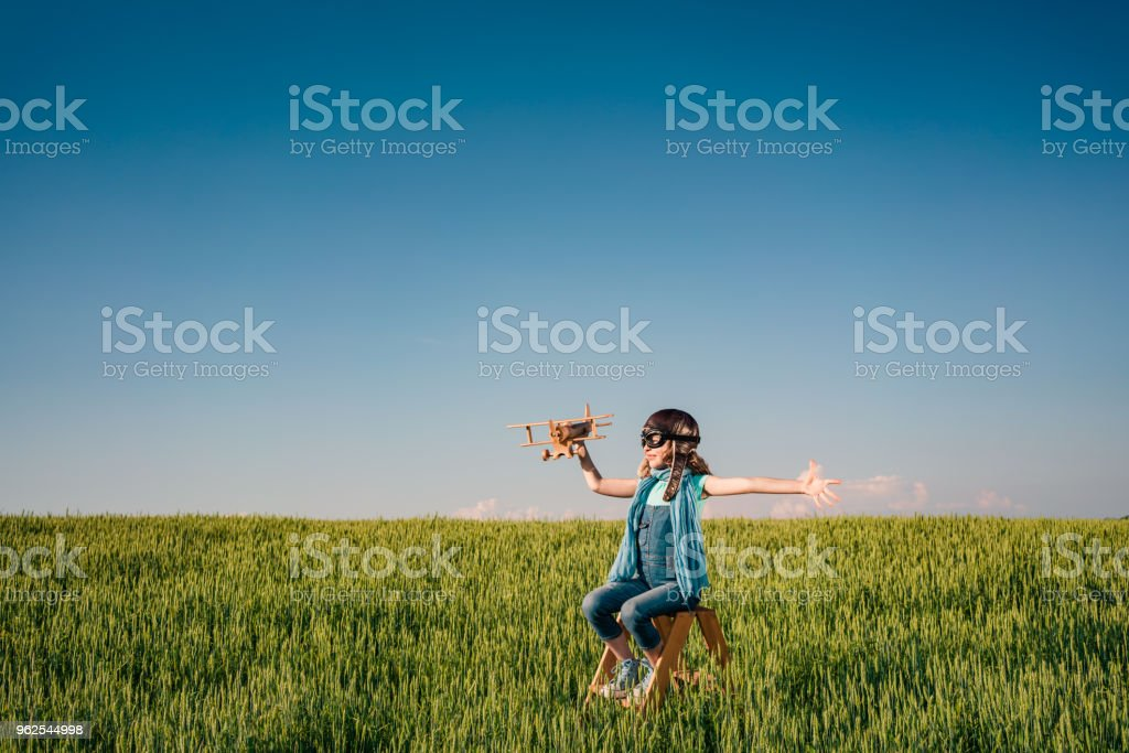 Imagination and freedom concept - Royalty-free Adventure Stock Photo