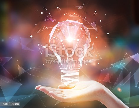 istock Imagination and technology concept 846113680