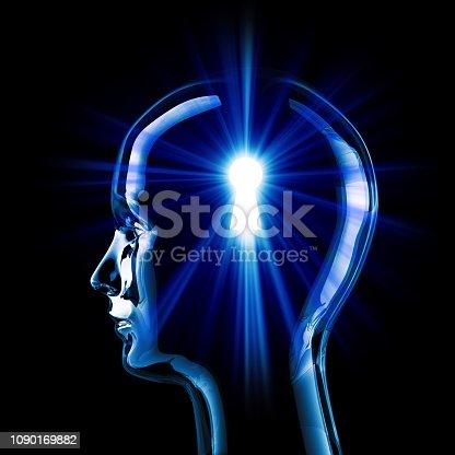 istock Imagination Concept 1090169882