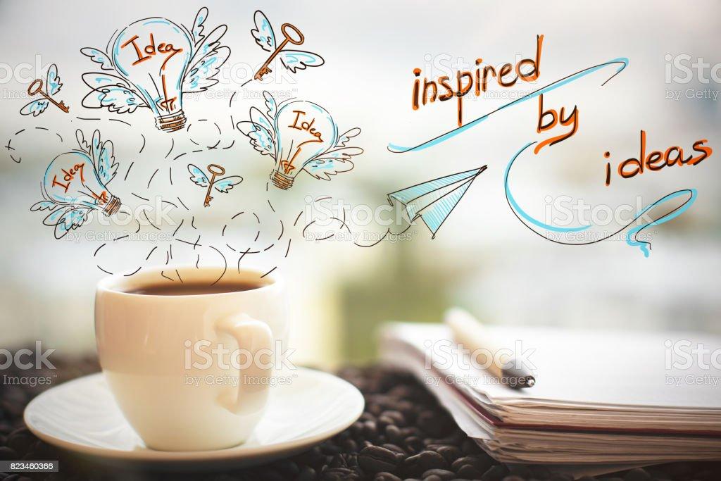 Imagination concept stock photo