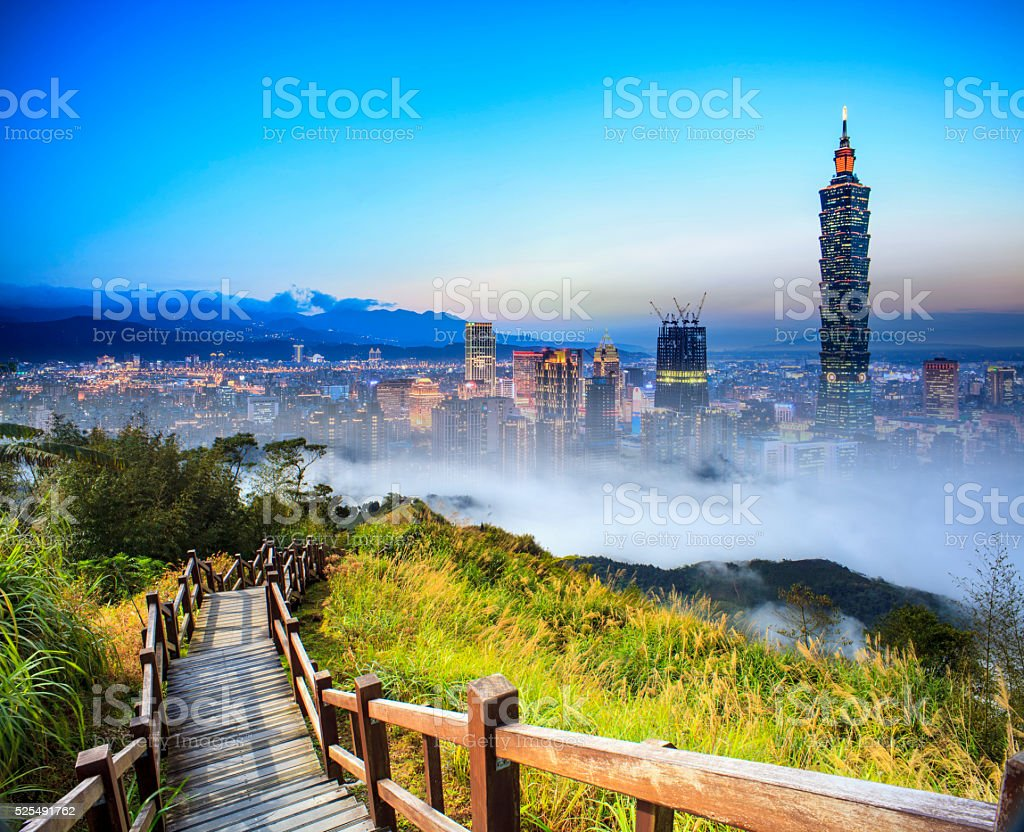 imaging of beautiful landscape with nice mountain sun color stock photo