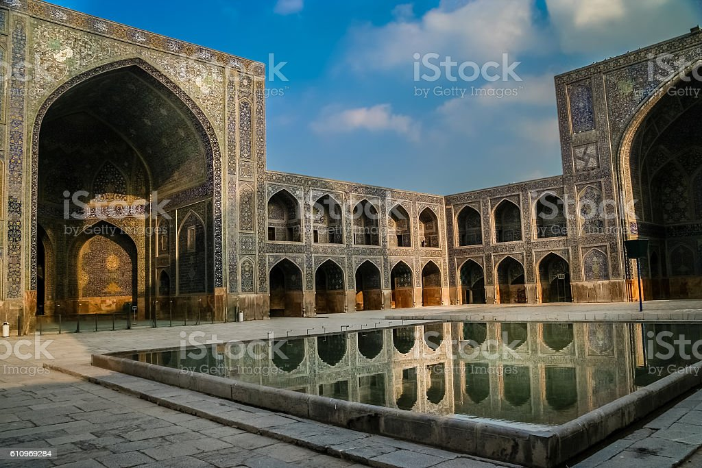 Imam Mosque in Esfahan stock photo