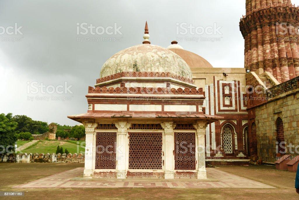 Imam Zamim's Tomb stock photo