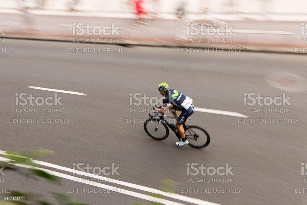Imanol Erviti professional cyclist stock photo