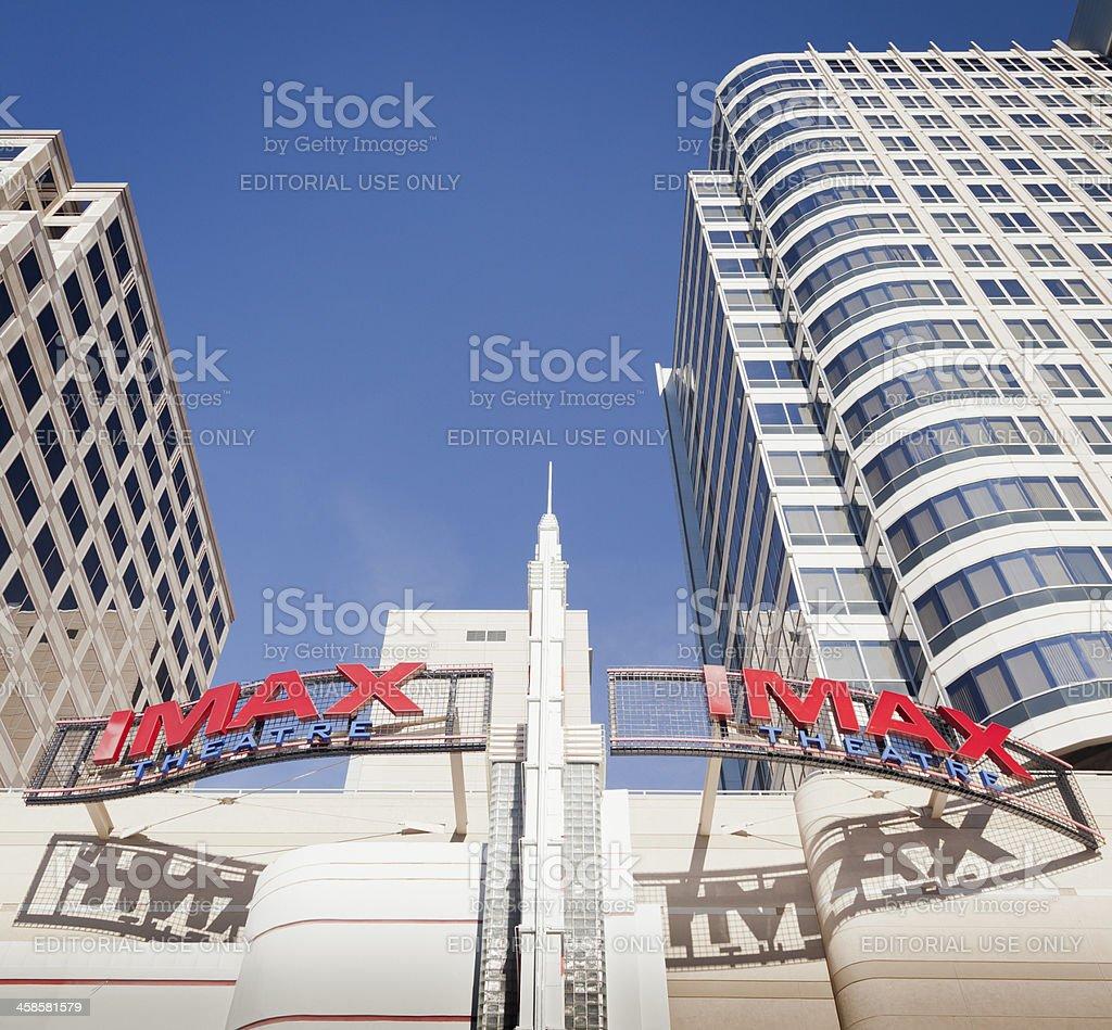 IMax Theater stock photo