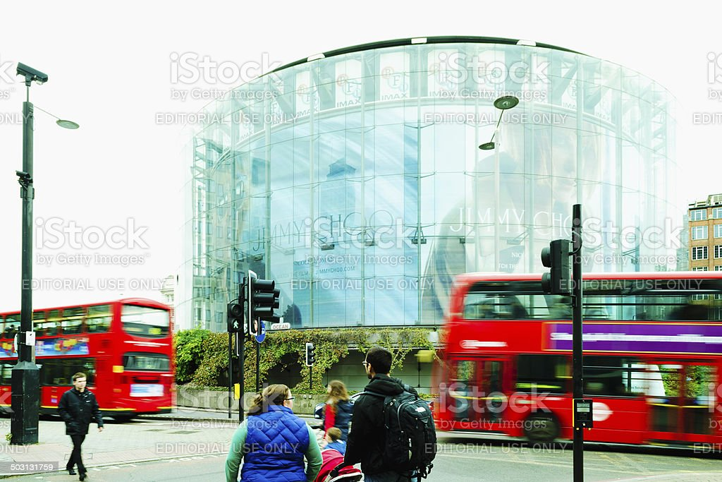 iMax Theatre London, UK stock photo
