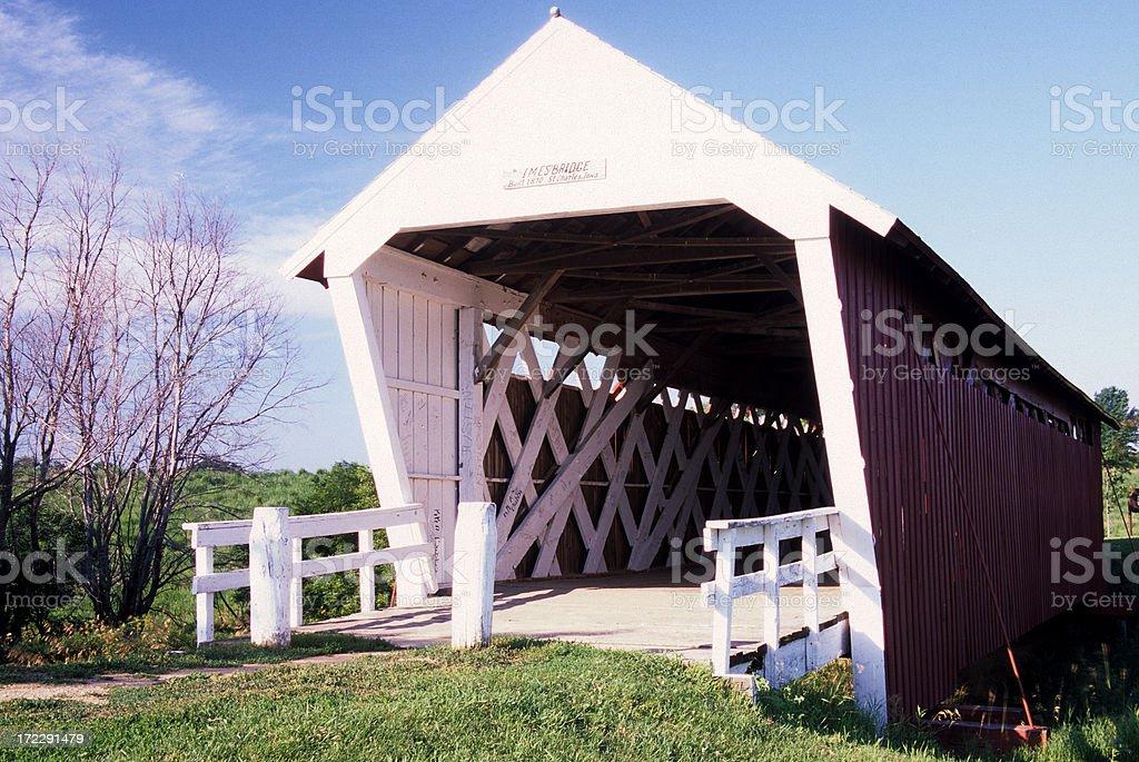 Imes Bridge royalty-free stock photo