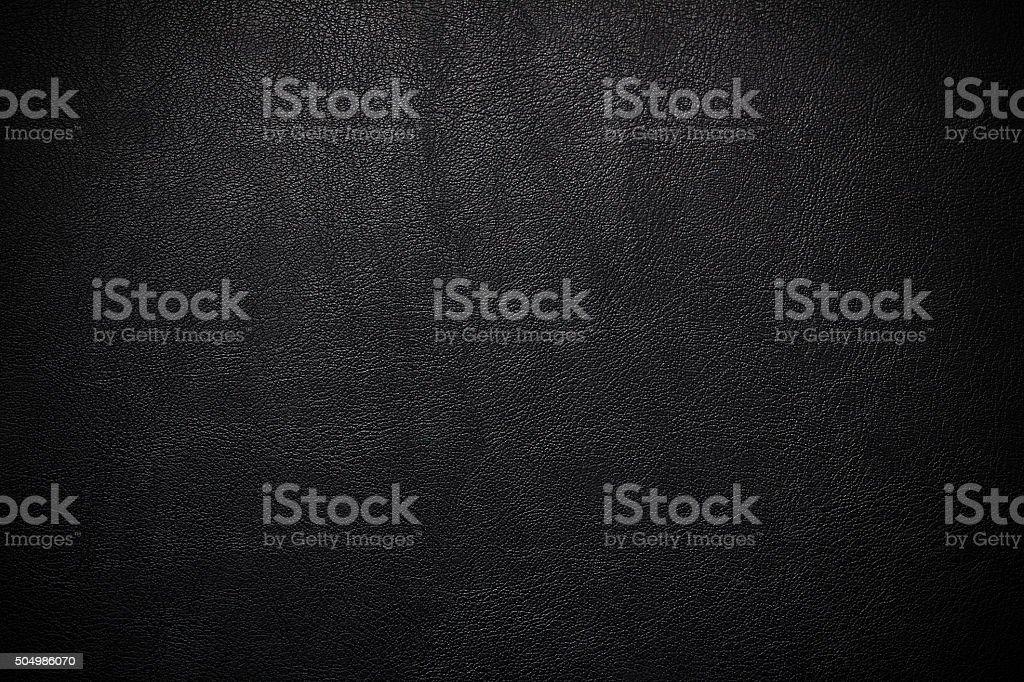 Imitação de couro preto, o pvc ou de fundo - foto de acervo