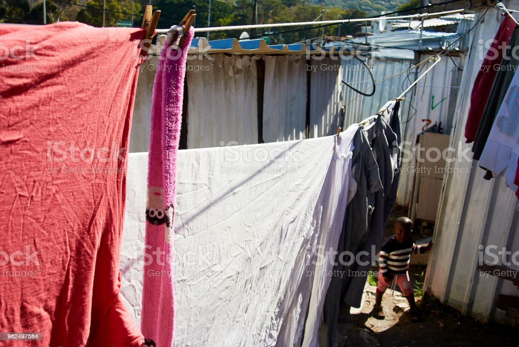 Imizamo Yethu Township in south Africa - Royalty-free Africa Stock Photo