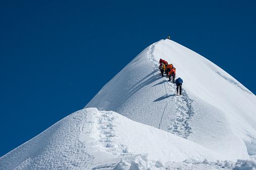 istock Imja Tse or Island peakclimbing, Everest region, Nepal 482534641