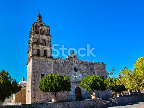 Immaculate Conception Church - Alamos, Sonora, Mexico