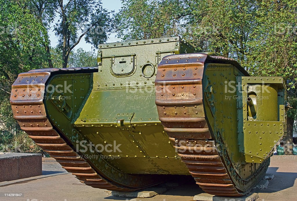 Immemorial Tank royalty-free stock photo