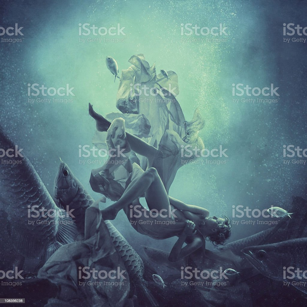 immersion royalty-free stock photo