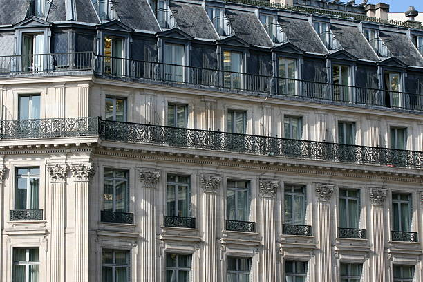 immeuble Hausmannien A Paris – Foto