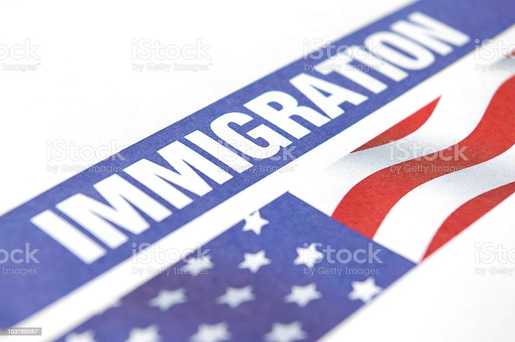 Immigration royalty-free stock photo