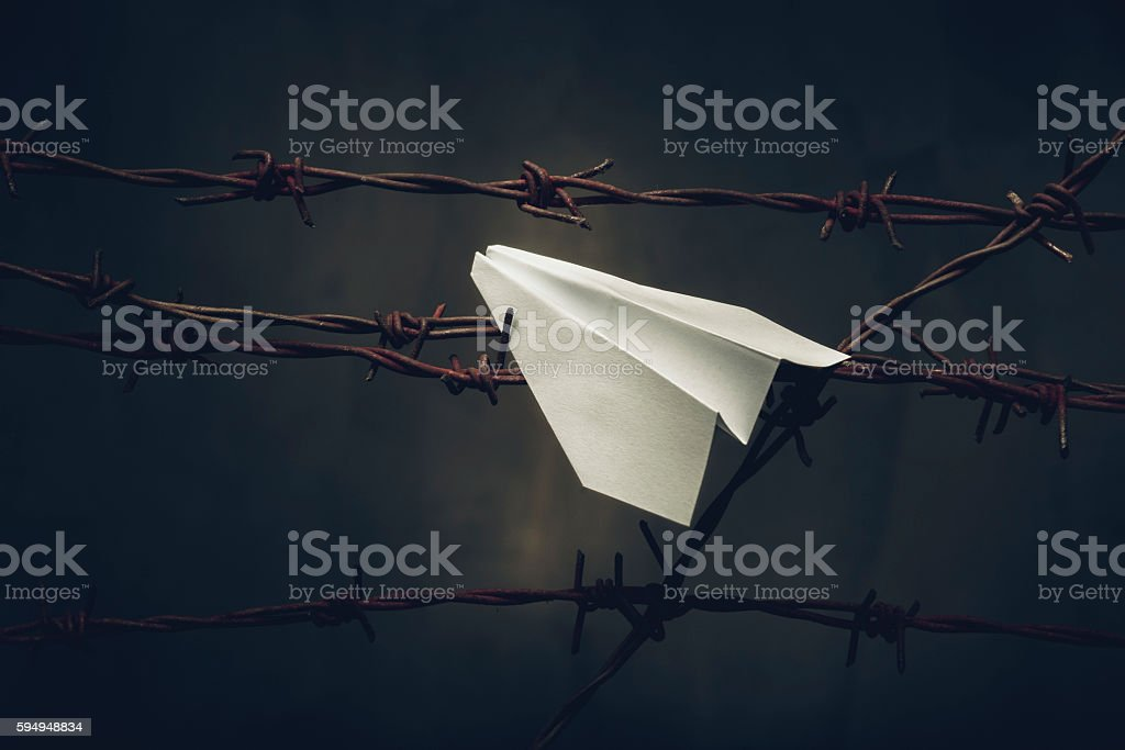 Immigration stock photo