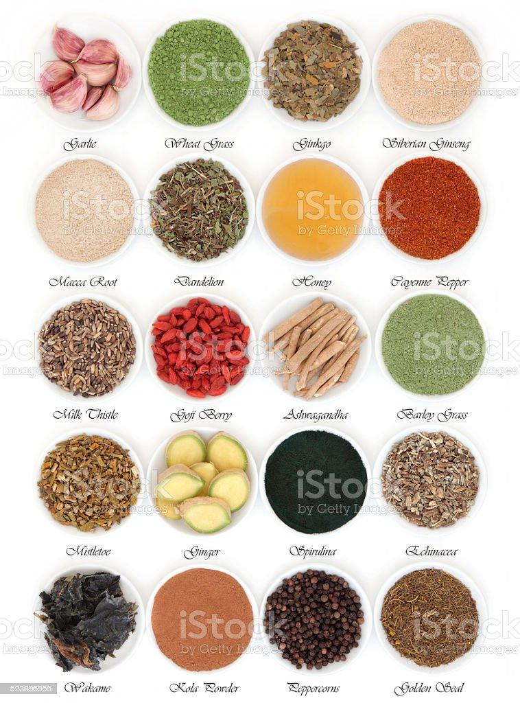 Immune Boosting Food stock photo
