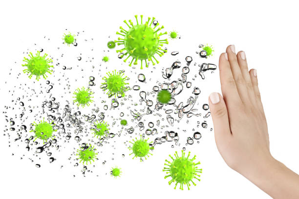 Immune defense stock photo