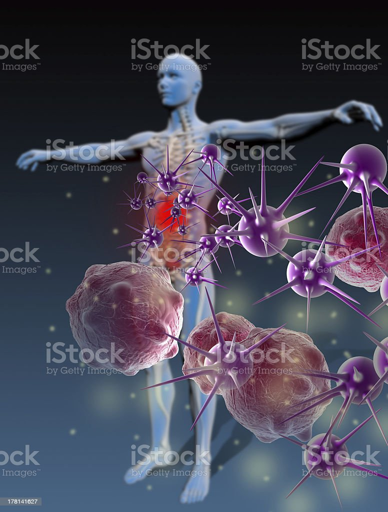 Immunity Against Diseases royalty-free stock photo