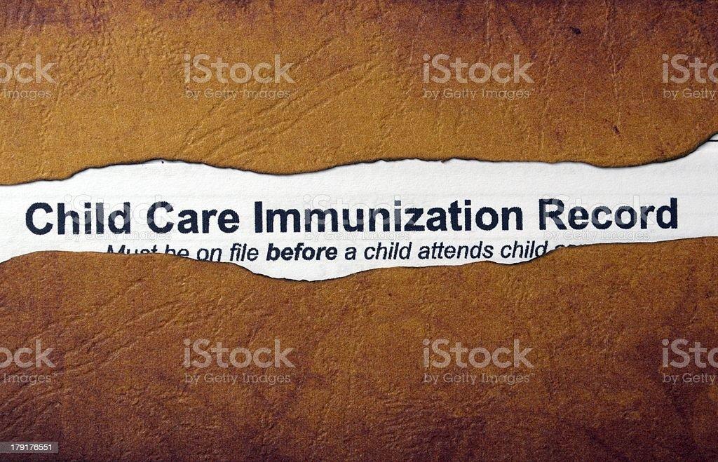 Immunization concept royalty-free stock photo